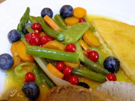 Beeren Gemüse