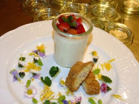 Buttermilch Dessert