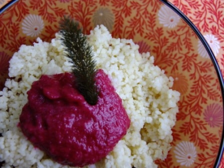 Couscous Rote Bete