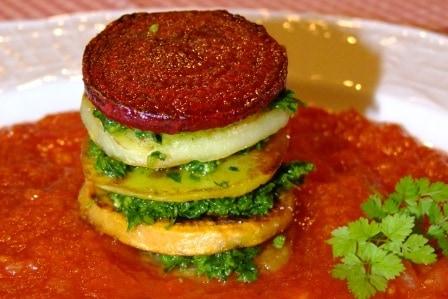 Gemüse Petersilien Pesto