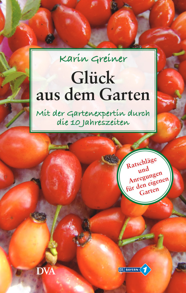 Buchcover Glück aus dem Garten
