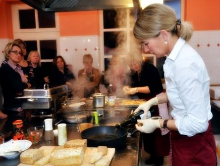 Kochen beim Küchen Rendezvous