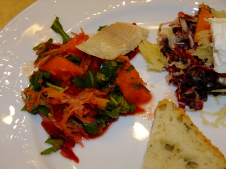 Kürbis Rote Bete Salat