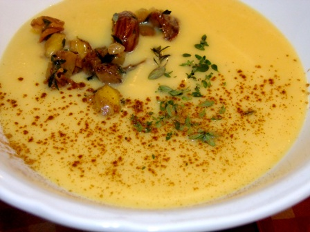 Suppe Pastinaken