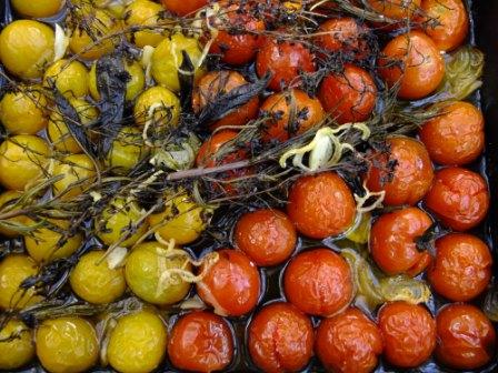 Tomaten schmoren