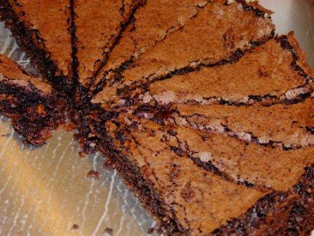 Schokolade Oliven Kuchen