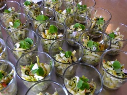 Salat Spitzwegerich Apfel