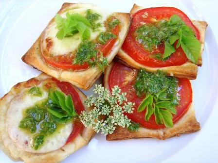 Tomaten Schnittchen