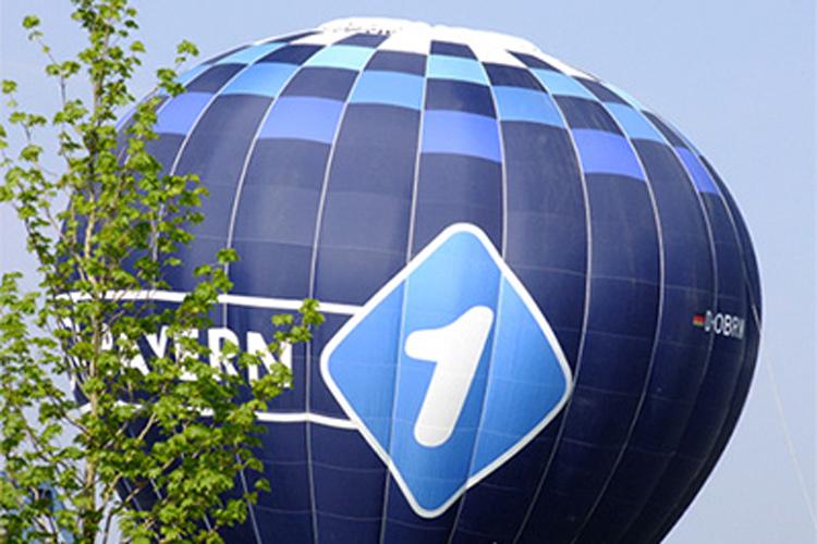 Bayern 1 Heißluftballon