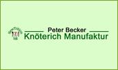 Peter Becker Knöterich Manufaktur